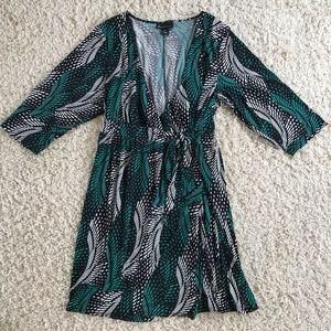 Lane Bryant Warp Dress. Size 22/24